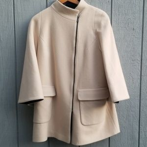 Fleurette Wool Pea Coat
